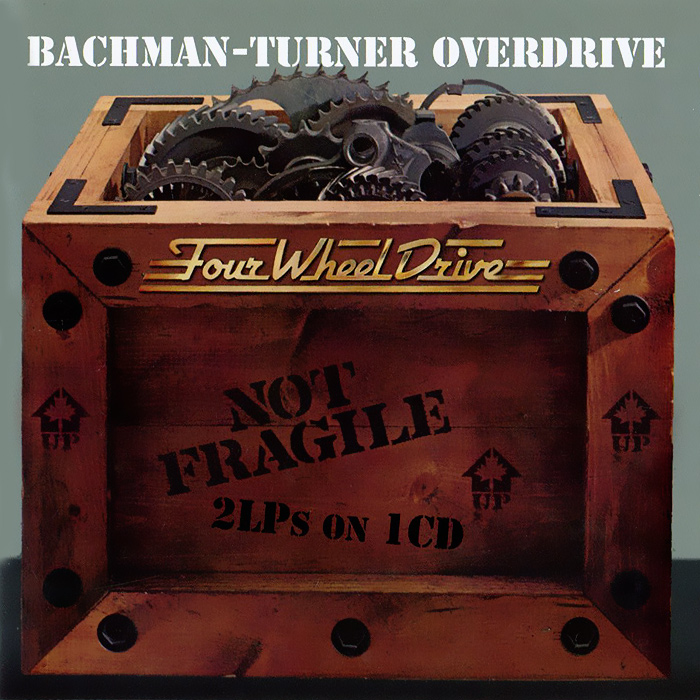 Bachman-Turner Overdrive Bachman-Turner Overdrive. Not Fragile / Four Wheel Drive turner boxed notecards