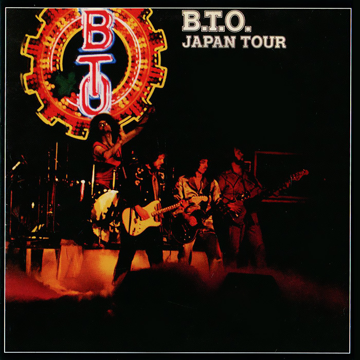 Bachman-Turner Overdrive Bachman-Turner Overdrive: B.T.O. Live - Japan Tour turner boxed notecards
