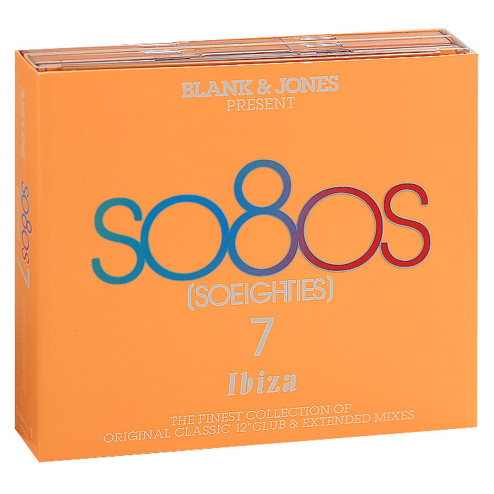 Blank & Jones Present So80s (So Eighties) 7 (3 CD)