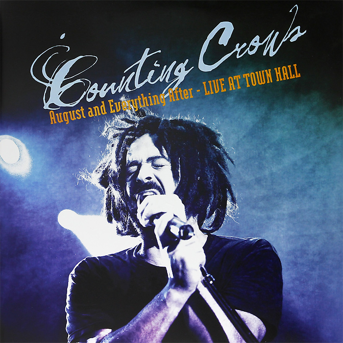 Counting Crows Counting Crows. August And Everything After. Live From Town Hall (2 LP) горнолыжные палки black crows black crows oxus желтый 130