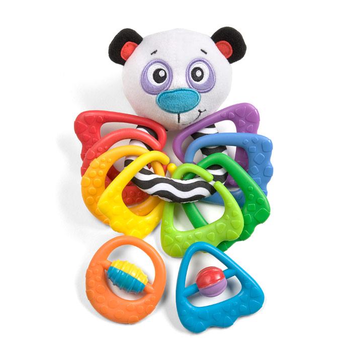 Игрушка-прорезыватель Playgro Панда мягкие игрушки folkmanis детеныш панды 23 см