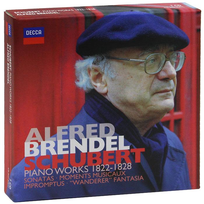 Альфред Брендель Alfred Brendel. Schubert. Piano Works 1822-1828 (7 CD) альфред брендель alfred brendel schubert complete impromptus