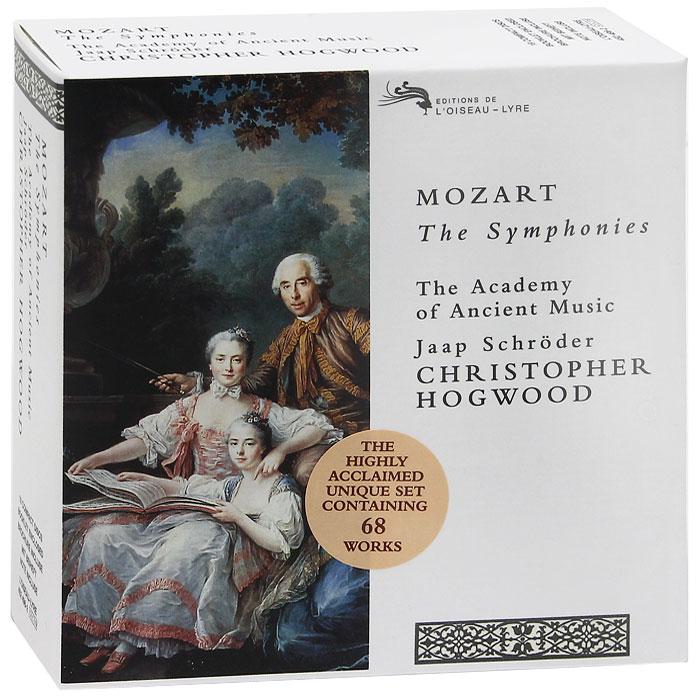 The Academy Of Ancient Music,Джаап Шредер,Кристофер Хогвуд Mozart. The Symphonies (19 CD)