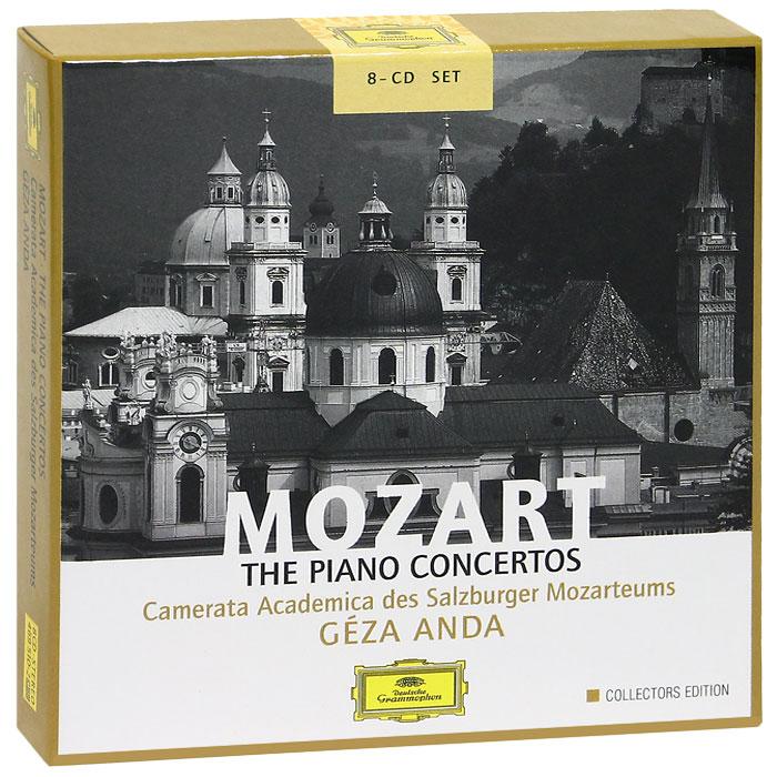 Геза Анда,Camerata Academica Salzburg Geza Anda. Mozart. The Piano Concertos. Collectors Edition (8 CD) salzburg зальцбург city pocket the big five