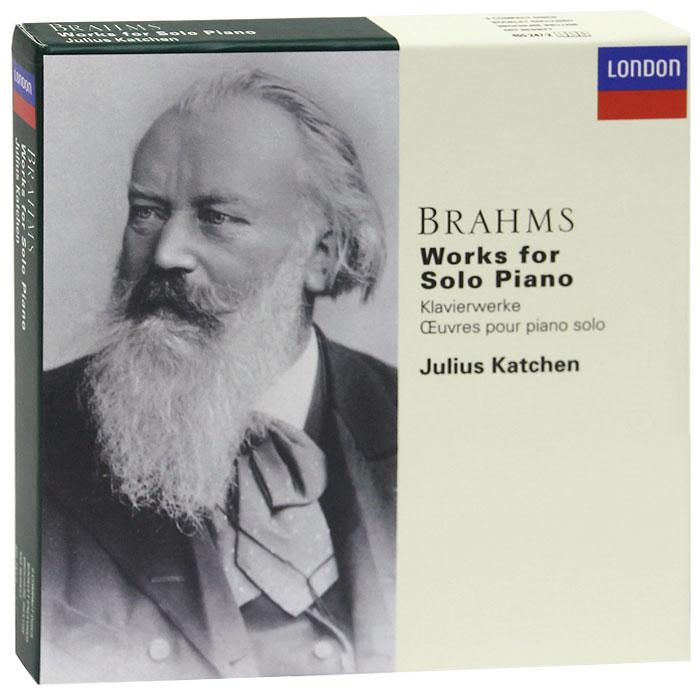 лучшая цена Джулиус Кэтчен Julius Katchen. Brahms. Works For Solo Piano (6 CD)