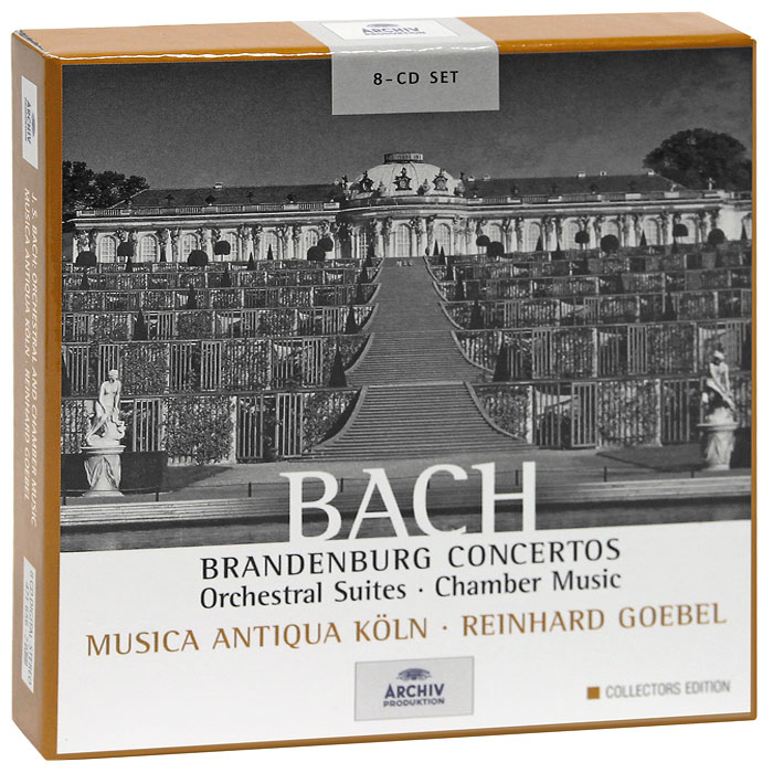 Musica Antiqua Koln Orchestra,Рейнхард Гебель Bach. Orchestral And Chamber Music. Collectors Edition (8 CD) кристиан тильманн the philadelphia orchestra christian thielemann the philadelphia orchestra wagner preludes and orchestral music
