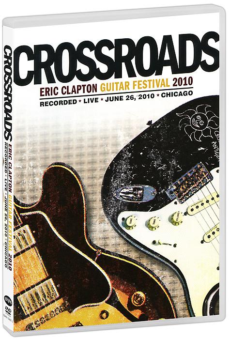 цена на Eric Clapton: Crossroads Guitar Festival 2010 (2 DVD)