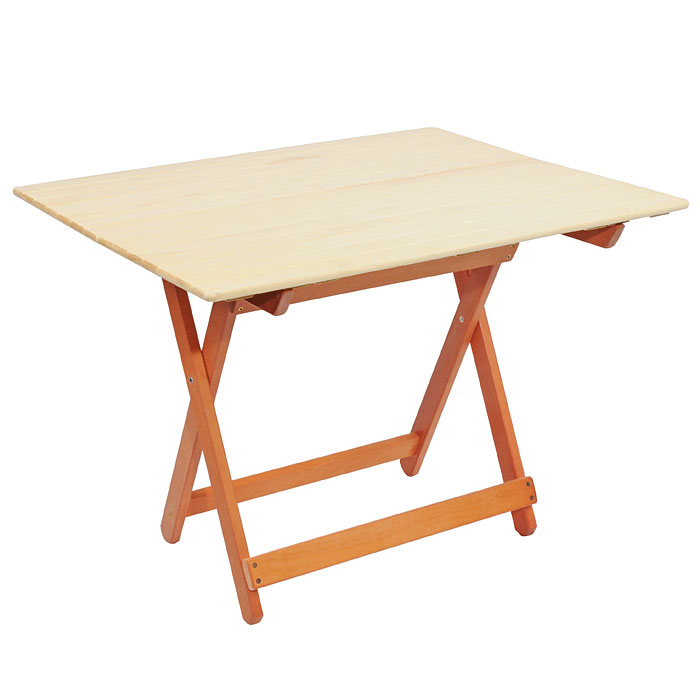 Стол складной для бани и сауны Банные штучки, большой, цвет: светлое дерево стол mariott d80 х 74 см