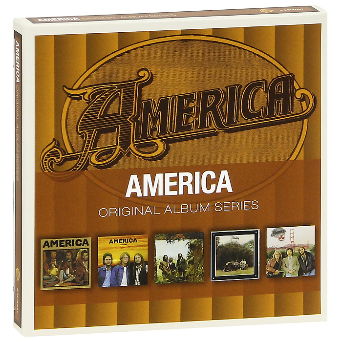 America America. Original Album Series (5 CD) yes original album series yes 5 cd