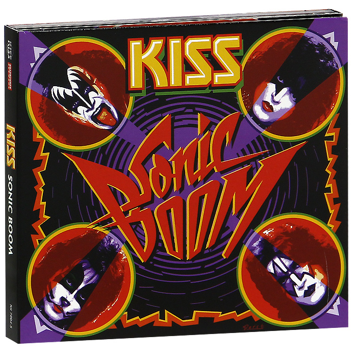 Kiss Kiss Sonic Boom Special Edition 2 CD + DVD