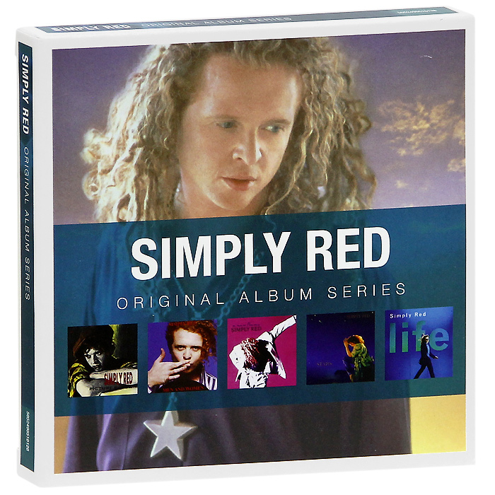 The Simply Red Simply Red. Original Album Series (5 CD) the simply red simply red men and women special edition