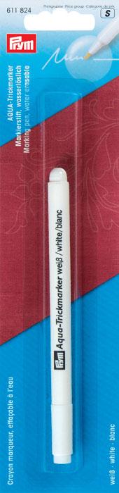 """Аква-маркер """"Prym"""", очень тонкий стержень, цвет: белый"""