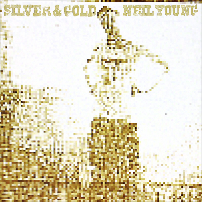 Нил Янг Neil Young. Silver And Gold (LP)