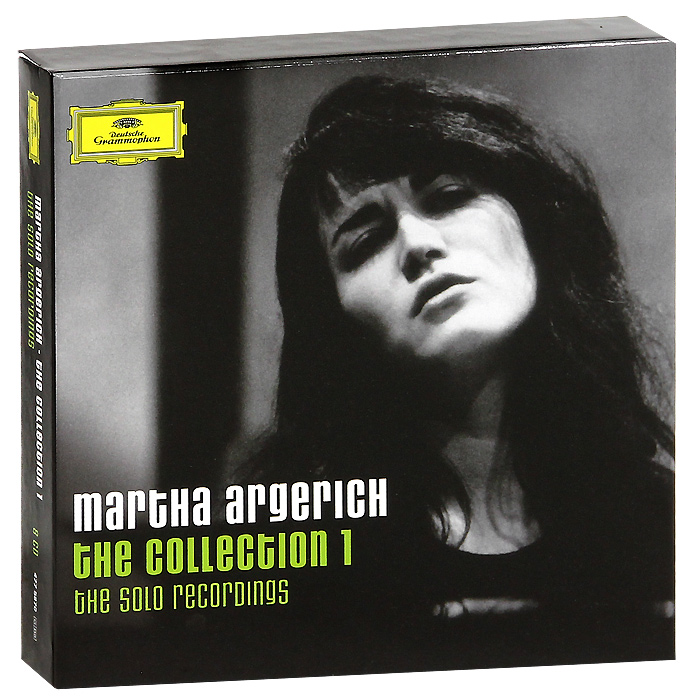 Марта Аргерих Martha Argerich. The Collection 1. The Solo Recordings (8 CD) миша майский марта аргерих mischa maisky martha argerich in concert