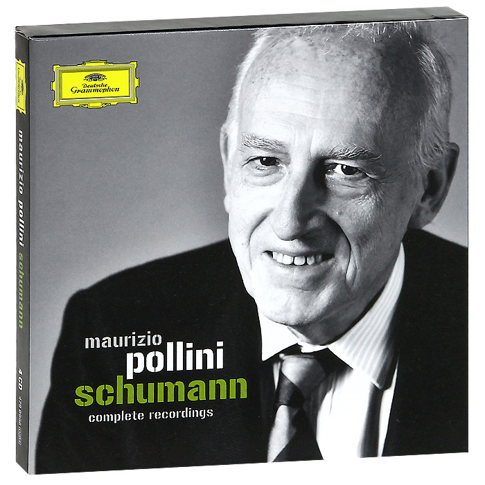 Маурицио Поллини,Berliner Philharmoniker,Клаудио Аббадо Maurizio Pollini. Schumann (4 CD)