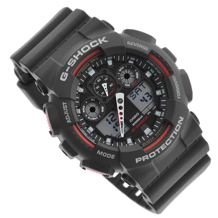 цена Наручные часы Casio GA-100-1A4 онлайн в 2017 году