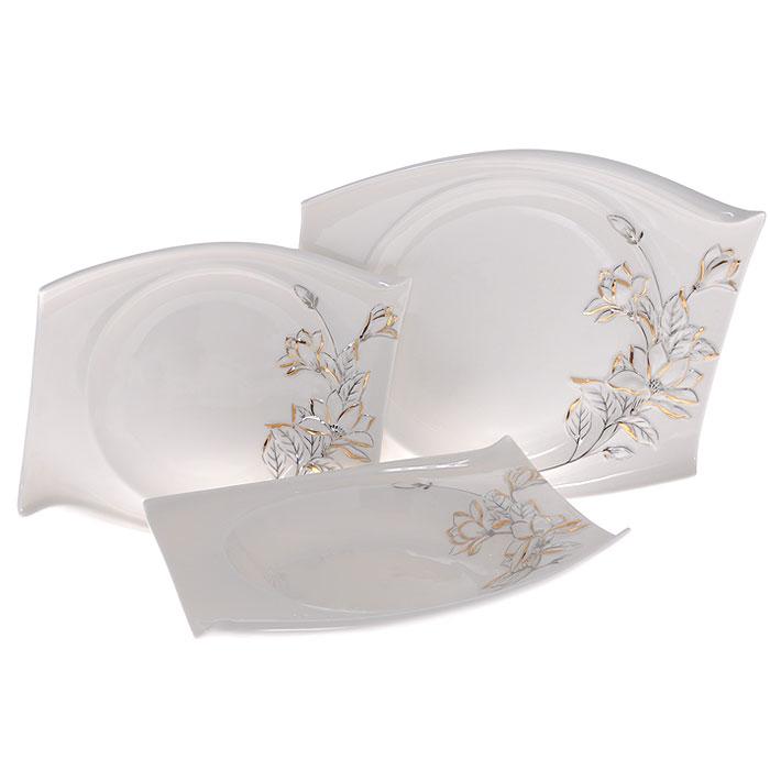 Набор тарелок Палаццо, 3 шт набор сундучков roura decoracion 26 х 20 х 15 см 2 шт 34791