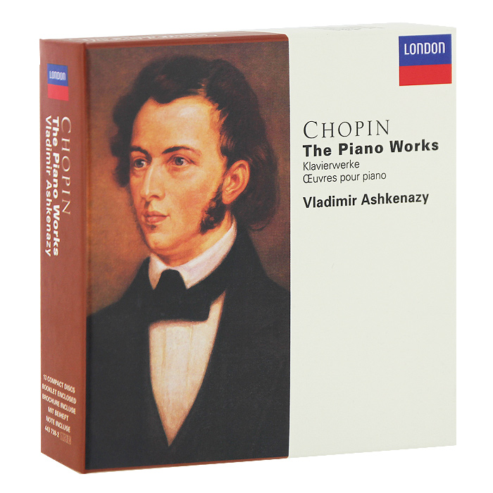 Владимир Ашкенази,Вовка Ашкенази Vladimir Ashkenazy. Chopin. The Piano Works (13 CD) vladimir ashkenazy beethoven the piano concertos 3 cd