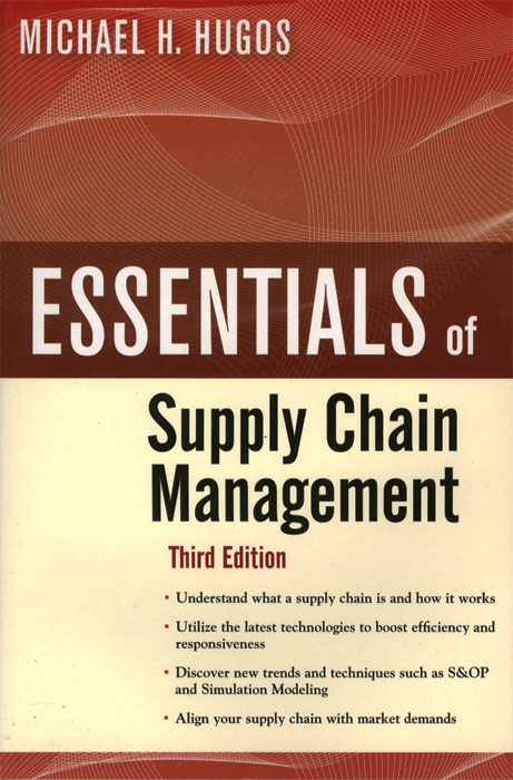Essentials of Supply Chain Management david axson a j the management mythbuster isbn 9780470586280