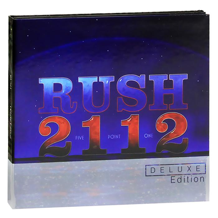 Rush Rush. 2112. Deluxe Edition (CD + DVD) rush rush 2112 deluxe edition cd blu ray