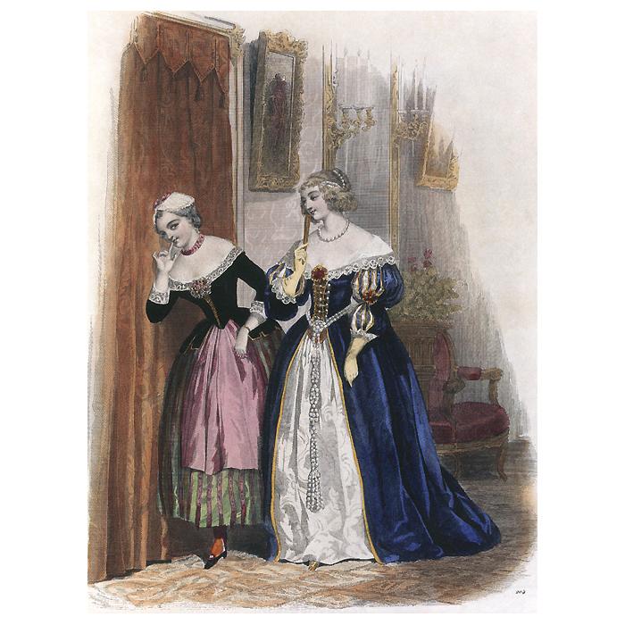 Книга Журнал высокой моды. Мода 1840-х годов
