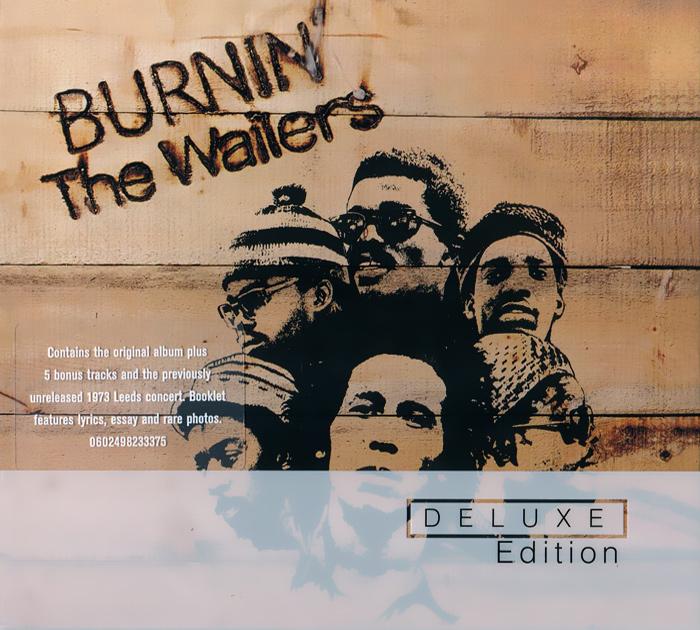 Боб Марли,The Wailers Bob Marley & The Wailers. Burnin'. Deluxe Edition (2 CD) the jam the jam the gift deluxe edition 2 cd