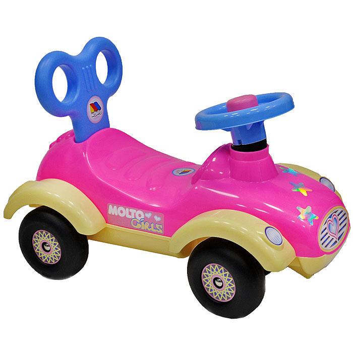 """Детский автомобиль-каталка """"Сабрина"""", цвет в ассортименте"""