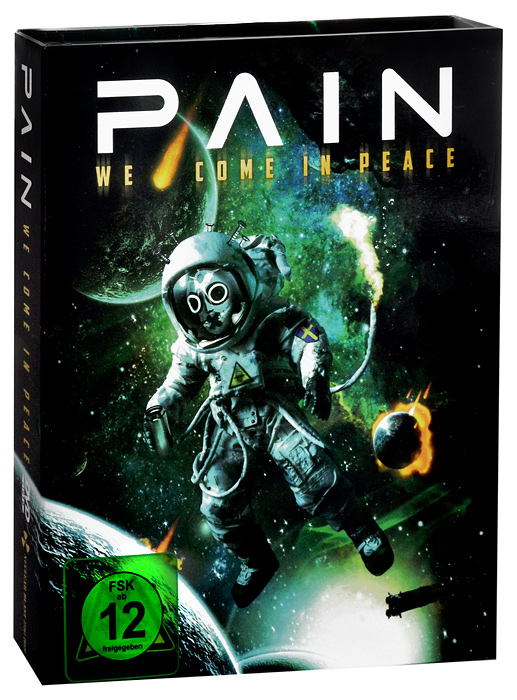 Pain  We Come in Peace DVD  2 CD