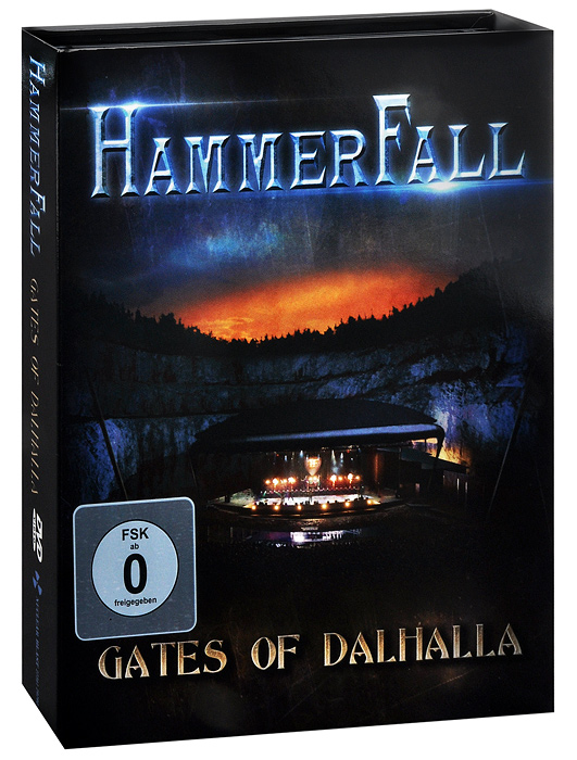 HammerFall: Gates Of Dalhalla (DVD + 2 CD) animal rescue team special delivery