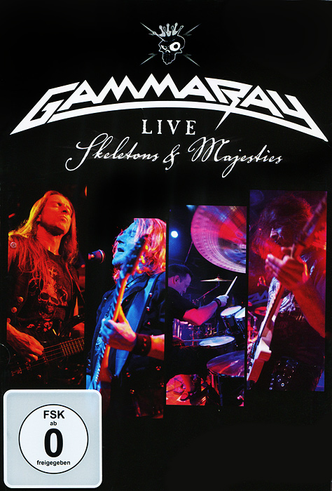 Gamma Ray: Skeletons & Majesties, Live (2 DVD) пэт бенатар pat benatar live from earth wide awake in dreamland 2 cd