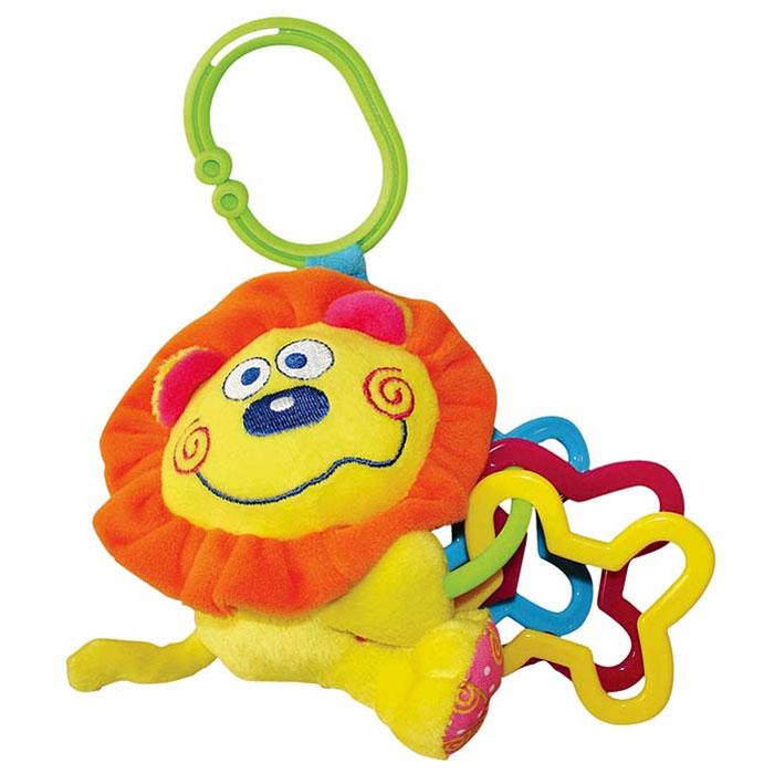 Мягкая игрушка-подвеска Львенок мягкая игрушка infantino милый львенок