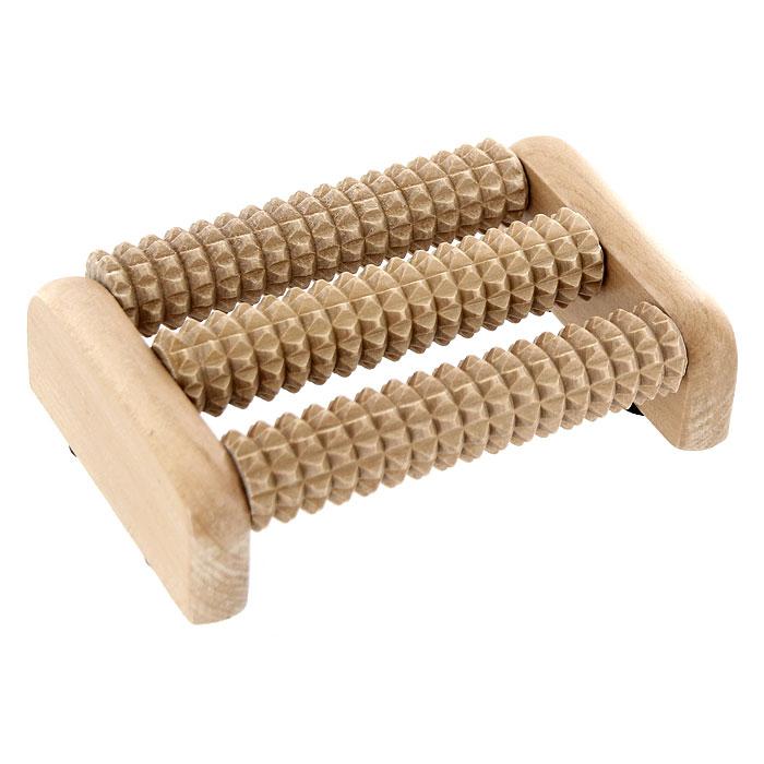 Массажер для ног Банные штучки, деревянный. 40160 массажер для ног надувной 15 см цвета микс