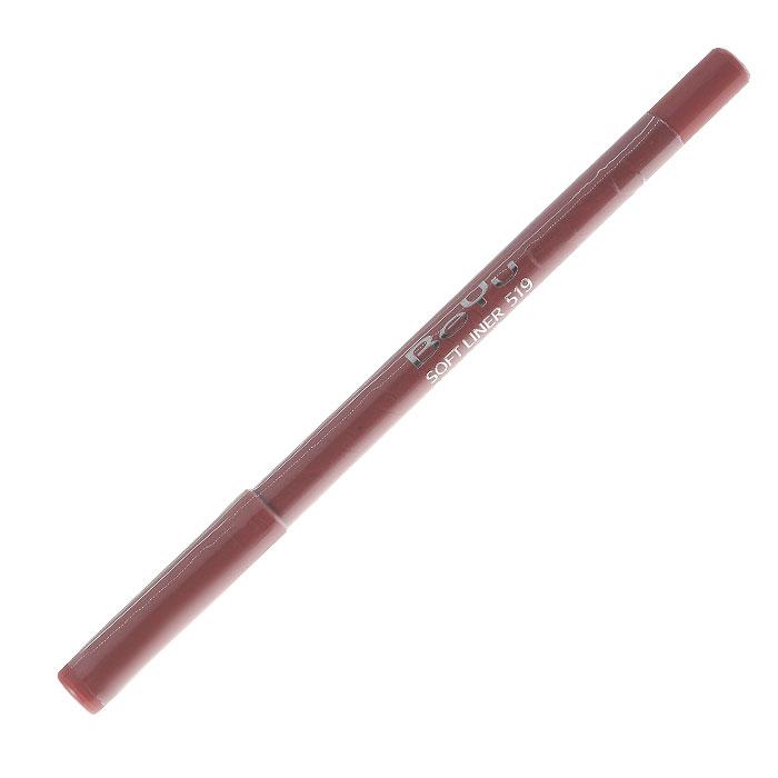 BeYu Карандаш для губ Soft Liner, универсальный, тон №519, 1,2 г карандаш для губ beyu 548