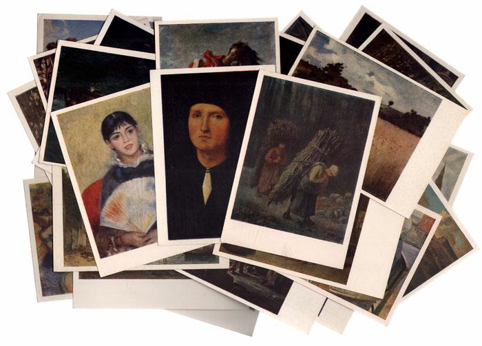 Наборы открыток по живописи