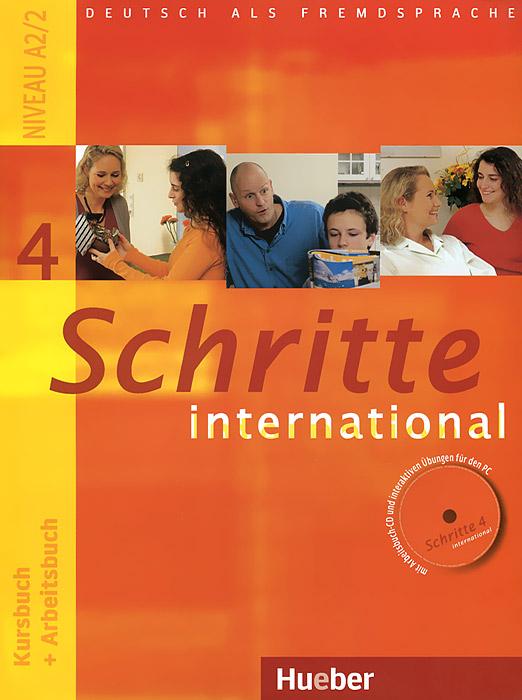 Schritte International 4 (+ CD) цена