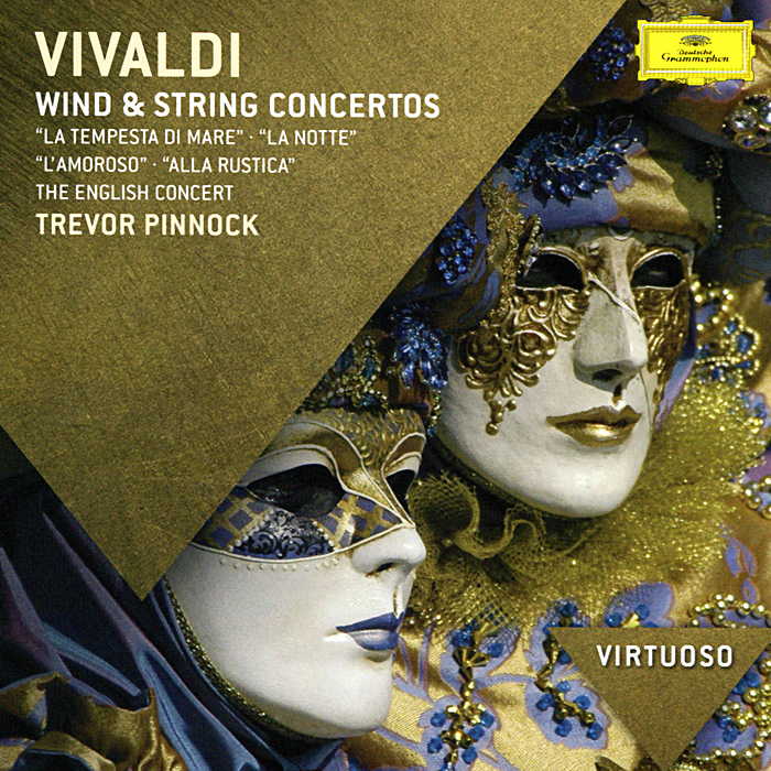 Тревор Пиннок,The English Concert Trevor Pinnock. Vivaldi. Wind & String Concertos тревор пиннок the english concert the english concert