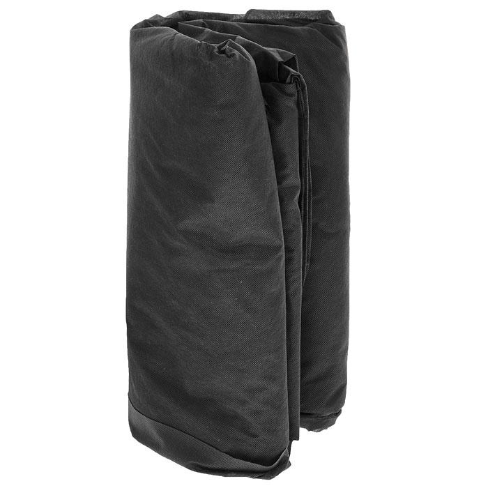 """Спанбонд """"СУФ"""", цвет: черный, плотность 60 г/м2. Размер 3,2 х 10 м"""