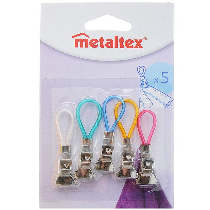Набор зажимов для полотенца Metaltex, 5 шт кровоостанавливающий зажим 12 5
