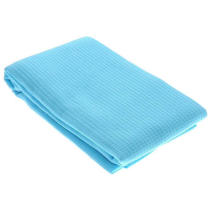Полотенце-простыня для бани и сауны Банные штучки, однотонное, 80 х 150 см, цвет голубой килт для бани и сауны банные штучки мужской цвет в ассортименте