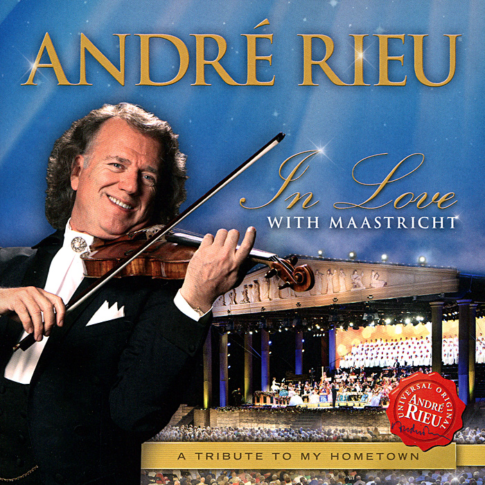 Андрэ Рье Andre Rieu. In Love With Maastricht andre rieu the best of live