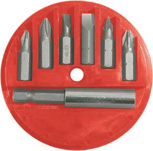 Набор бит FIT, 25 мм, 6 шт. 57621 набор бит fit 57864