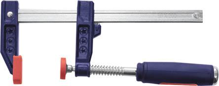 Струбцина F-образная FIT, усиленная, 50 х 150 мм струбцина f образная fit 50х250мм усиленная мягкая ручка