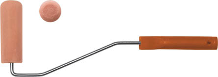 Валик поролоновый Fit с ручкой, 100 мм х 30 мм валик fit 04152