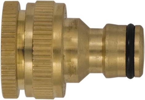 Коннектор для кранов FIT с внешней резьбой, 1/2 - 3/4 коннектор с внешней резьбой palisad 66275