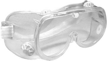 Очки защитные FIT, закрытого типа, цвет: прозрачный mag2000 дед мороз с домиком подсвечник 9 7 x 6 2 x 9 5 см