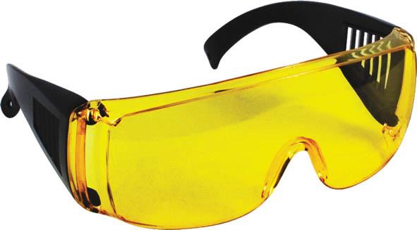 Очки защитные FIT, цвет: желтый лоток для крепежа fit 35 x 21 x 16 см