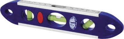 Уровень магнитный FIT, 3 глазка, 230 мм