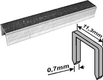 цена на Скобы для степлера Fit, тип 53, 6 мм, 1000 шт. 31326