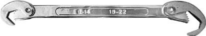 Ключ универсальный FIT, 9-22 мм. 63771