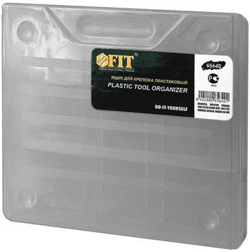 Ящик для крепежа FIT, 18,5 x 16 x 4 см набор органайзеров valiant vintage цвет бежевый 18 x 12 x 5 см 12 x 12 x 5 см vn s2p